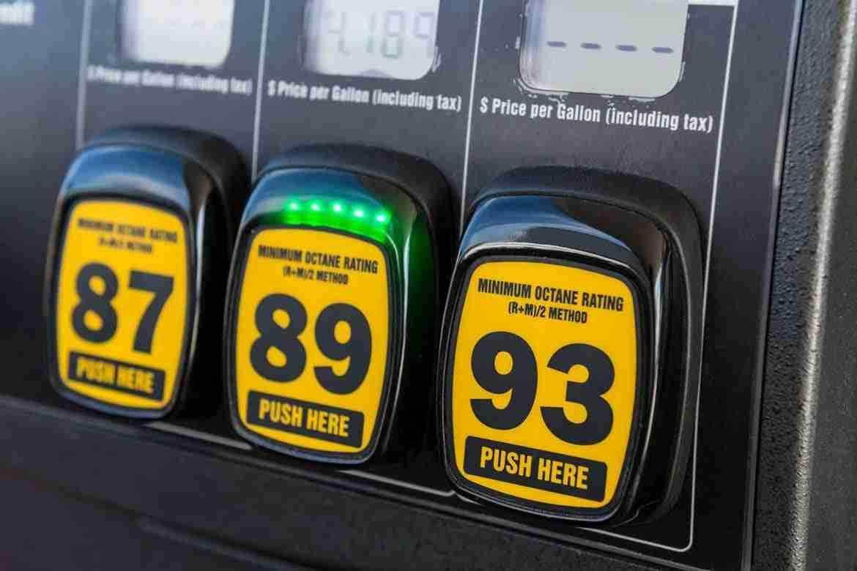 car fuel octane