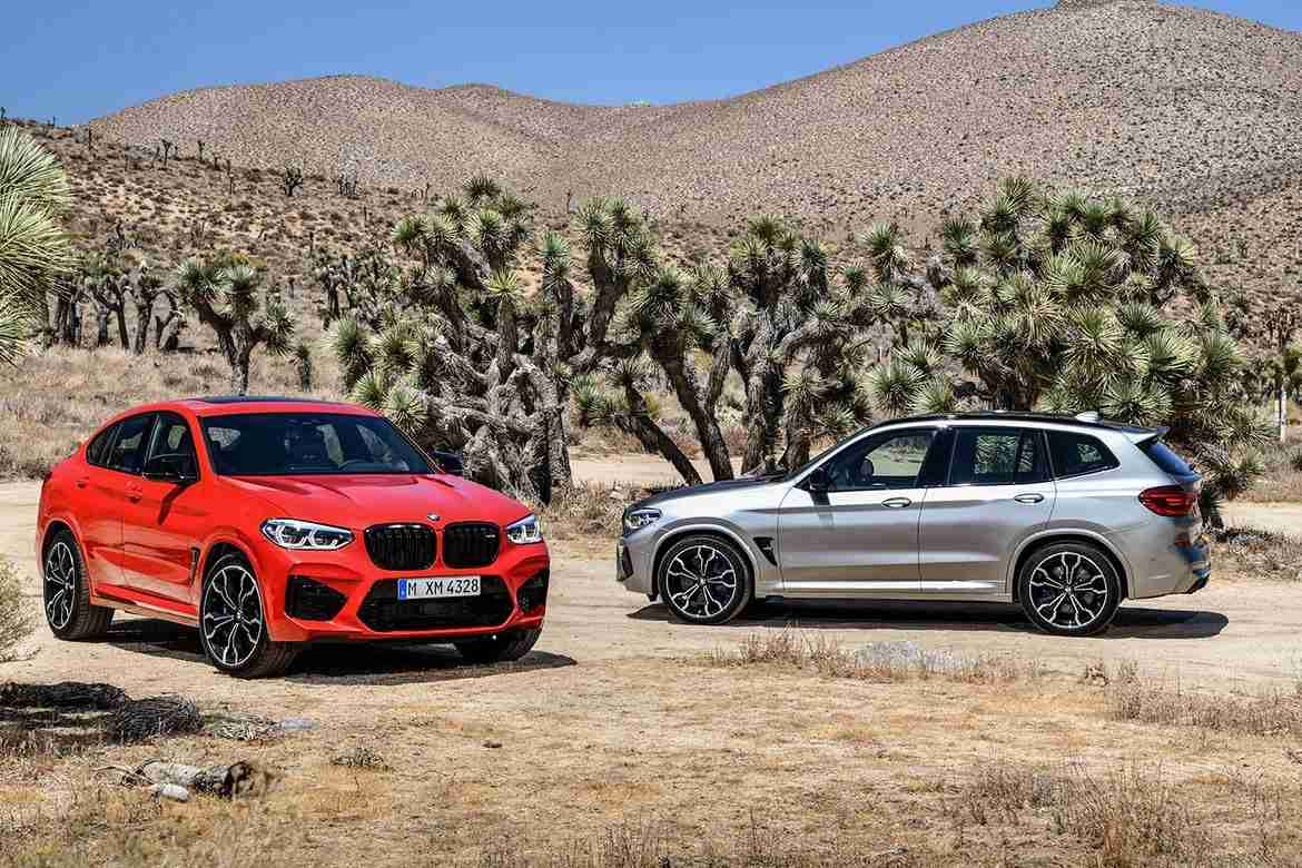 2021 bmw x3 m and 2021 bmw x4 m