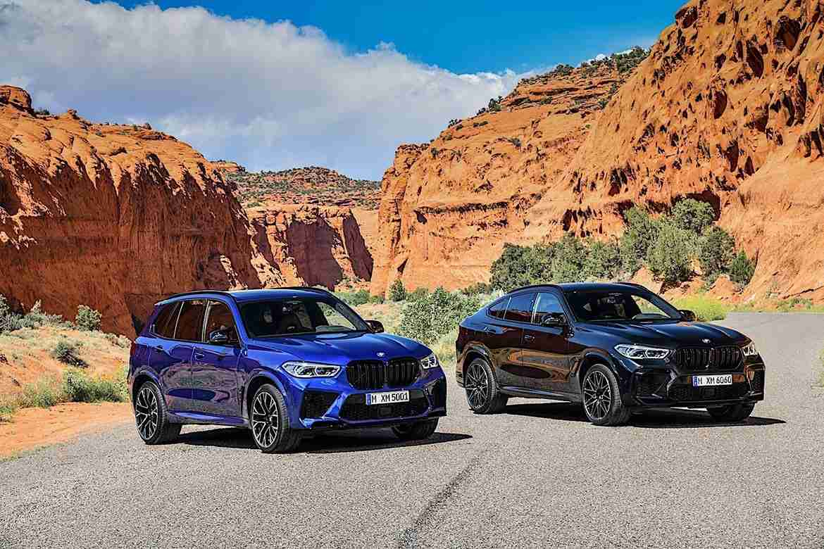 2021 bmw x5 m and 2021 bmw x6 m
