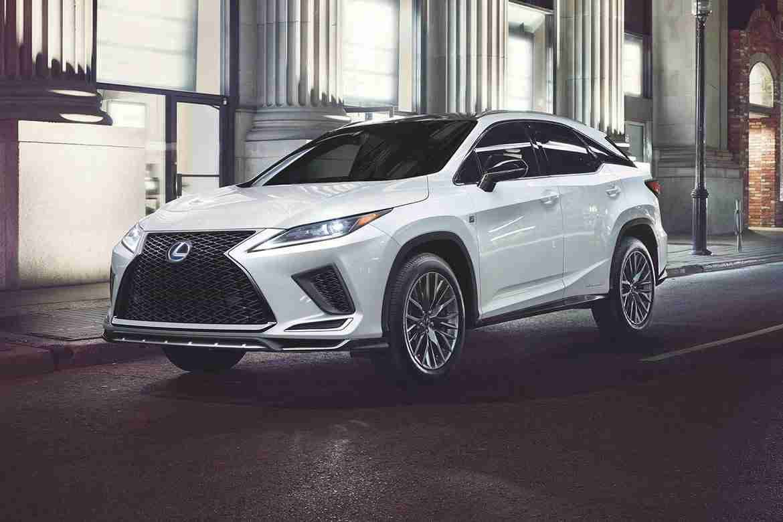 2021 lexus rx 450h hybrid