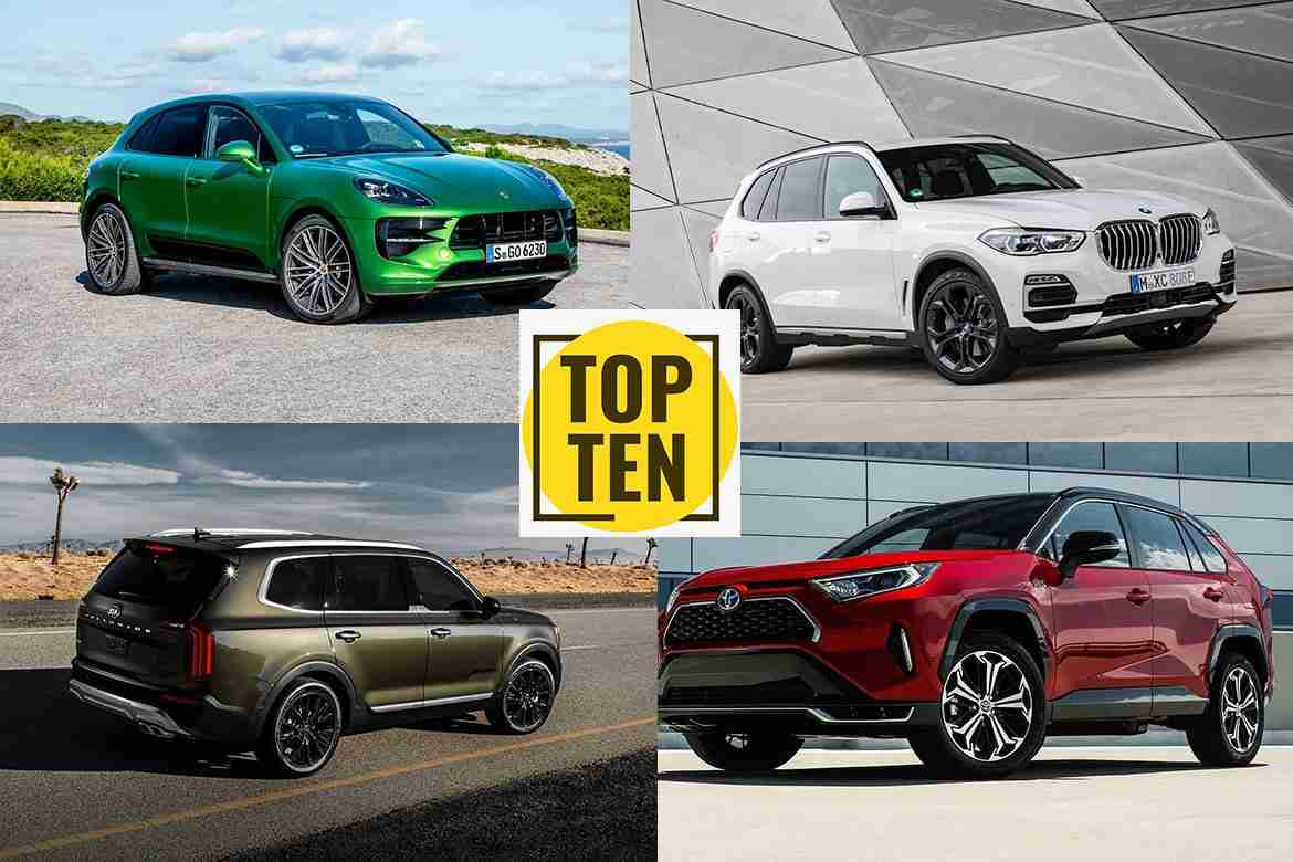 top 10 suv and crossover 2021