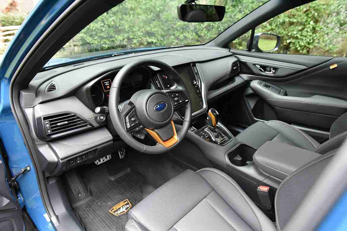 2022 subaru outback wilderness interior