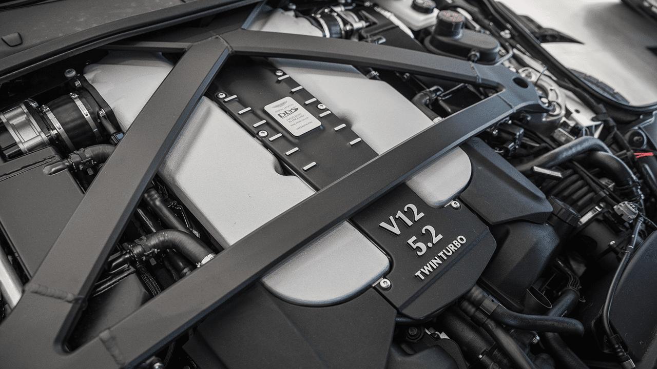 2021 aston martin dbs superleggera engine