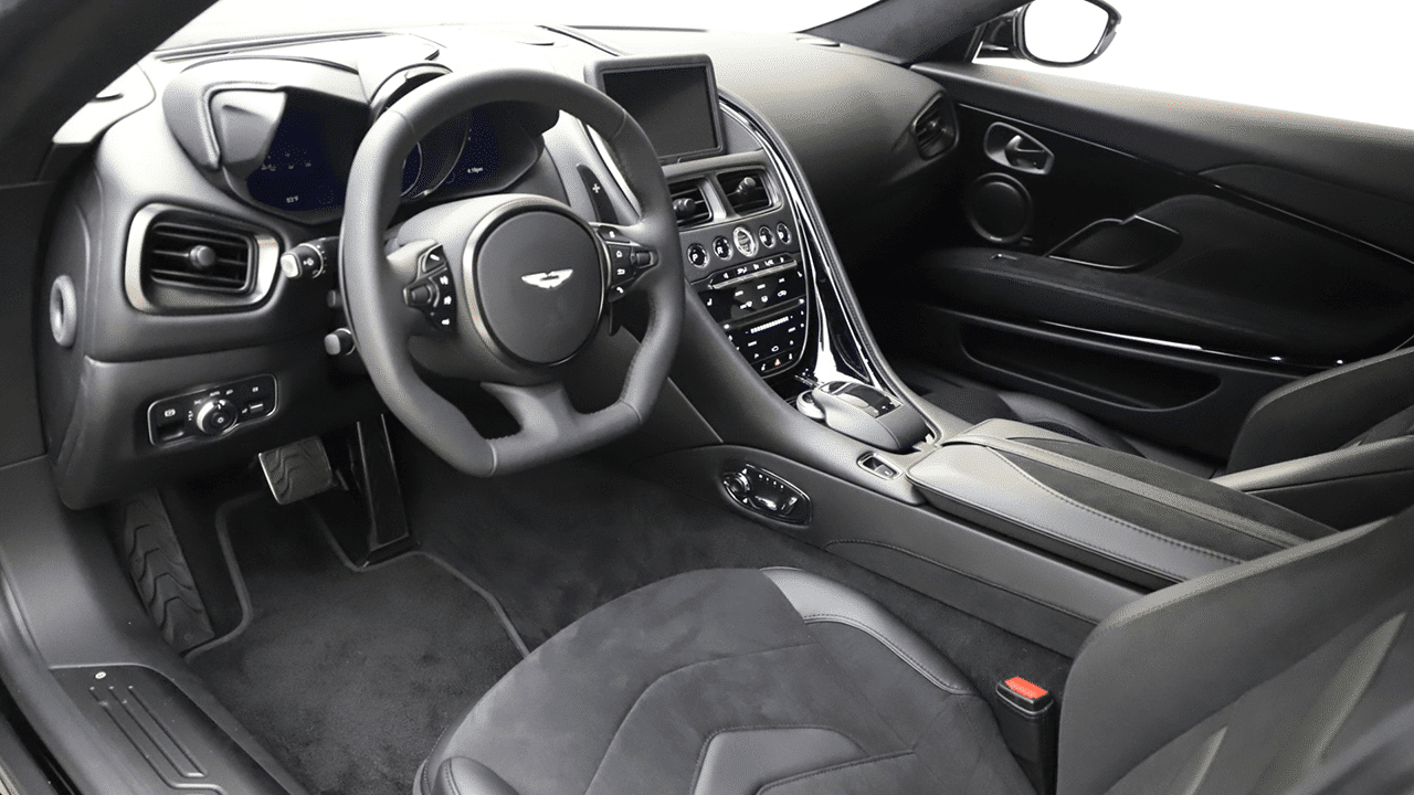 2021 aston martin dbs superleggera interior
